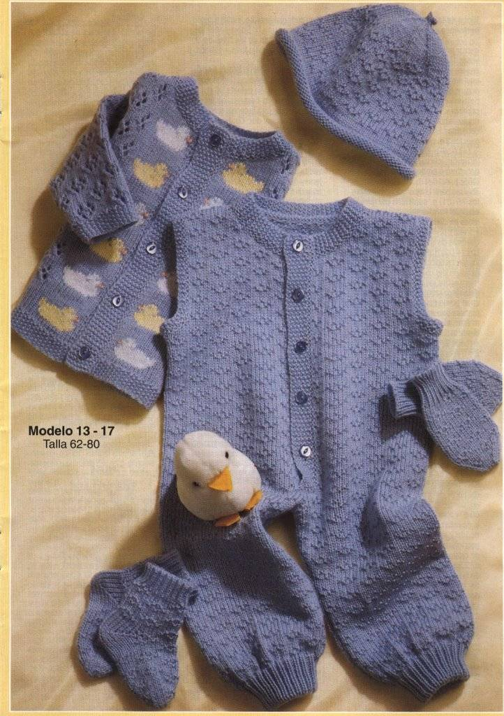Cómo hacer un gorro para bebé :: Gorro tejido a dos agujas para ...