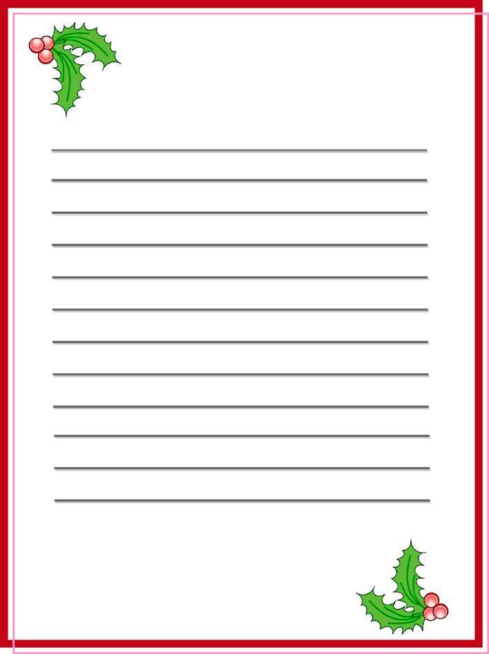 Modelos de cartas para Papá Noel y Reyes Magos para imprimir y ...