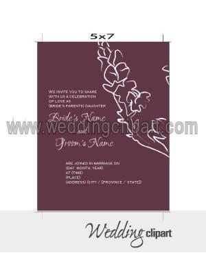 C mo dise ar las tarjetas de invitaci n a tu boda - Disenos tarjetas de boda ...