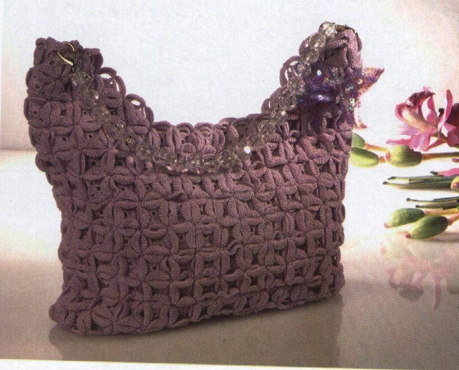 Patrones de carteras tejidas a crochet - Imagui