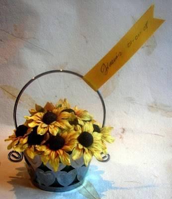 decoracin de boda con flores