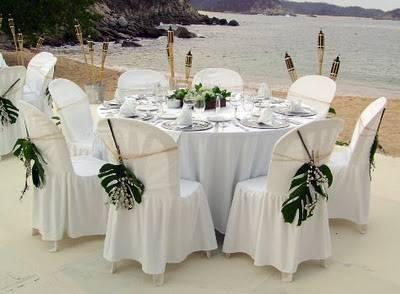 Decoraci n floral para bodas en la playa decorar - Decoracion floral para bodas ...