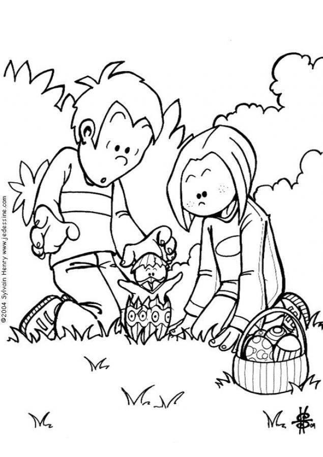 Dibujos de semana santa para colorear :: Dibujos de pascua para ...