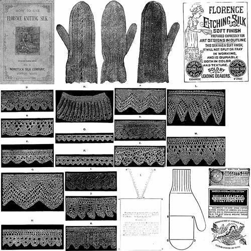 Historia del tejido a dos agujas