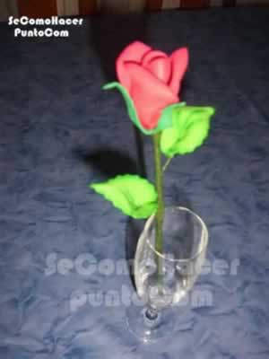 Moldes para hacer flores de goma eva :: Cómo hacer flores en goma ...