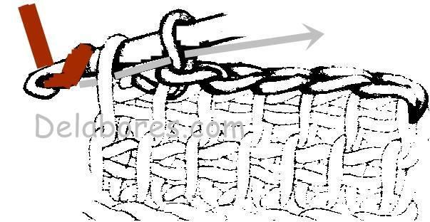 Técnica de tejido tunecino