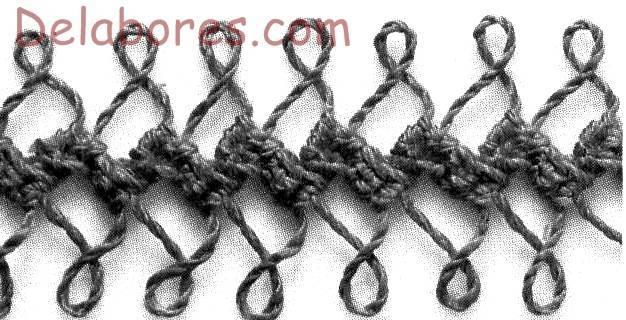 Tejer a crochet con horquilla