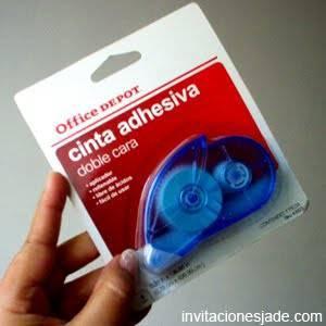 Tipos de cintas adhesivas para hacer invitaciones qu - Como quitar cinta adhesiva doble cara de la pared ...