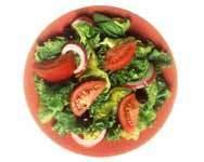 Ensalada completa bajas calorías