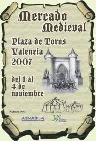 Mercado Medieval en la Plaza de Toros de Valencia
