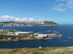 Vista de Coruña