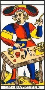 Carta El Mago del Tarot