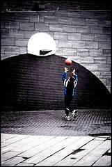 Entrenamiento de baloncesto para niños