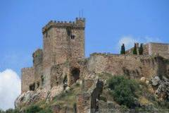 Castillo de Alburquerque en Badajoz, Extremadura