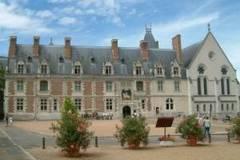 Castillo de Blois en el Valle del Loira