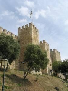 Castillo de San Jorge en Lisboa, Portugal