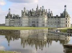 Castillo de Chambord en el Valle del Loira