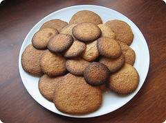 Receta de galletas de jengibre