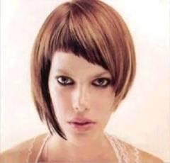 Estilos de cortes de moda para pelo fino