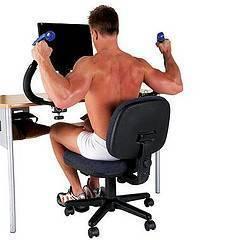 Ejercicios para hacer en la oficina