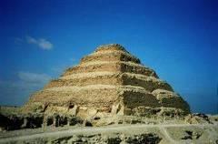 Pirámide de Zoser en Saqqara