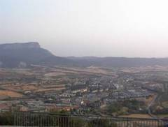 Vista panorámica de Jaca, Huesca, Aragón