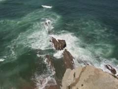 Vista del mar Cántabrico. Acantilados de Sopelana, Vizcaya