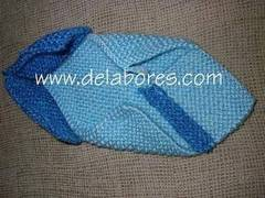 Pantuflas tejidas