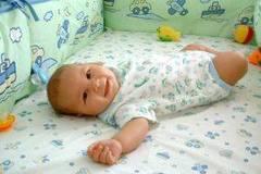 Posiciones de Yoga para bebes