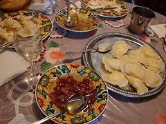 Varenikes, un tradicional plato del este de Europa