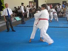 Técnica de judo para niños