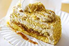 Torta con harina de lúcuma