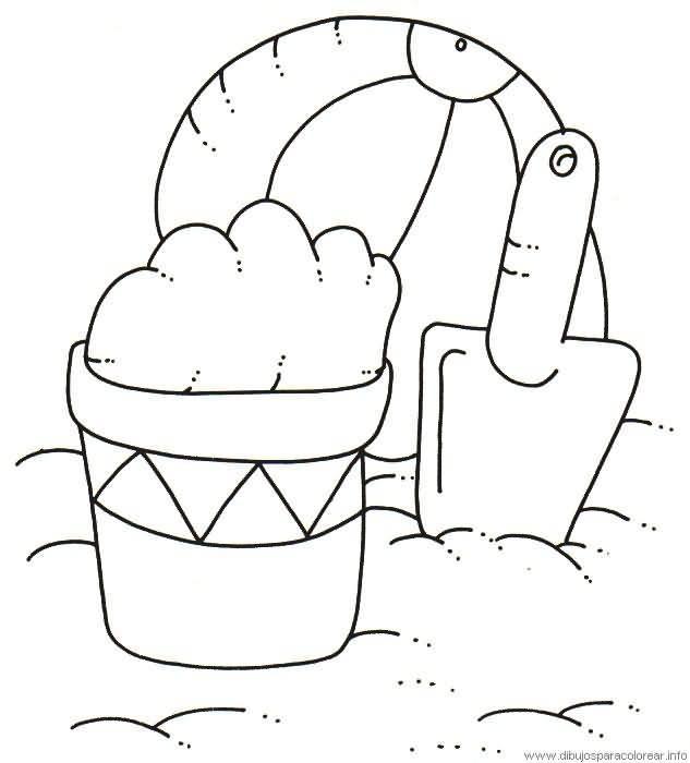 Dibujos de verano para imprimir y colorear :: Dibujos gratis de la ...