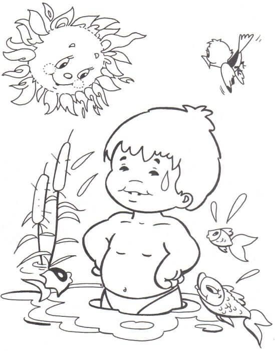 Dibujos De Verano Para Imprimir Y Colorear Dibujos Gratis De La