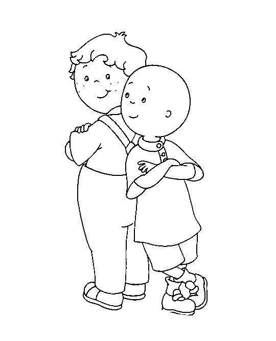 Dibujos Para Colorear Del Dia Del Amigo Dibujos Gratis Para