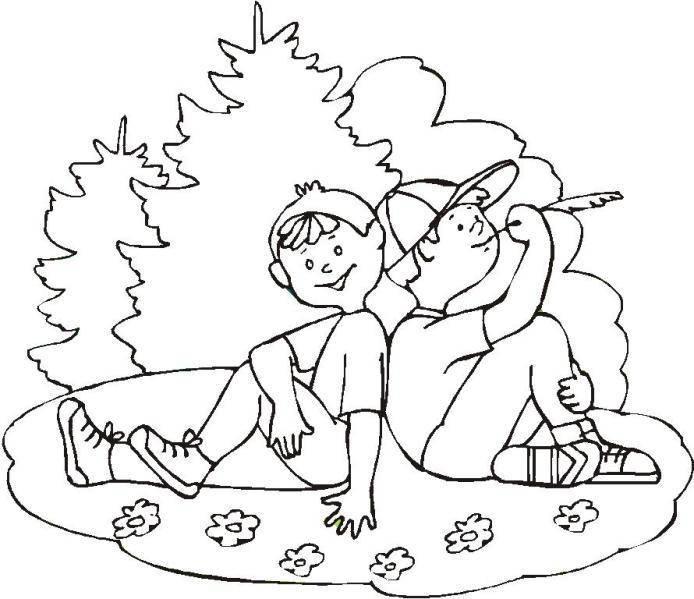 Dibujos para colorear del día del amigo :: Dibujos gratis ...