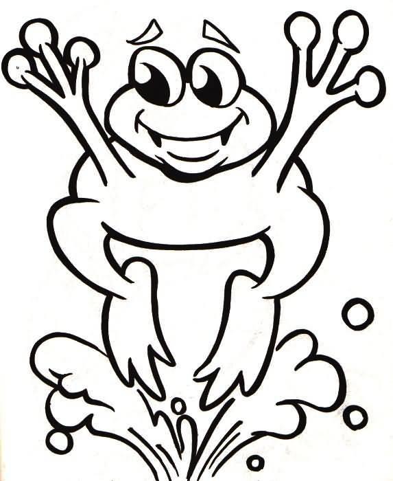 Dibujos gratis de animales rana