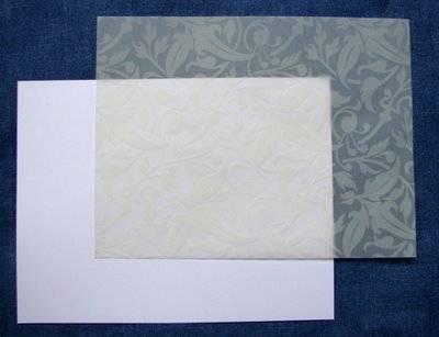Papel para tarjetas de bodas