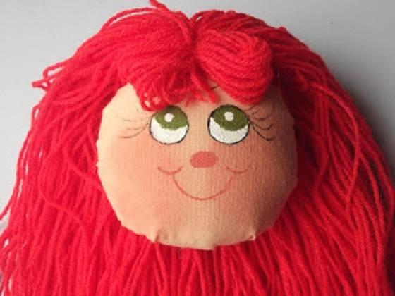 Cómo hacer caras para muñecos soft en tela o de trapo por Patty ...