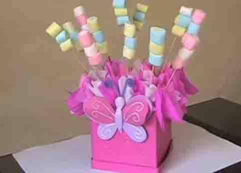 Centros de mesas para fiestas infantiles c mo hacer un - Como hacer adornos para fiestas ...