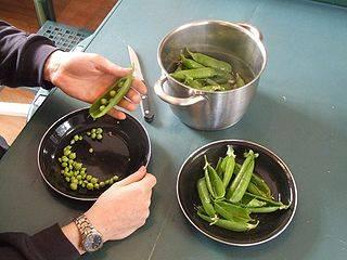 C mo cocinar los guisantes 10 recetas con guisantes for Cocinar guisantes congelados