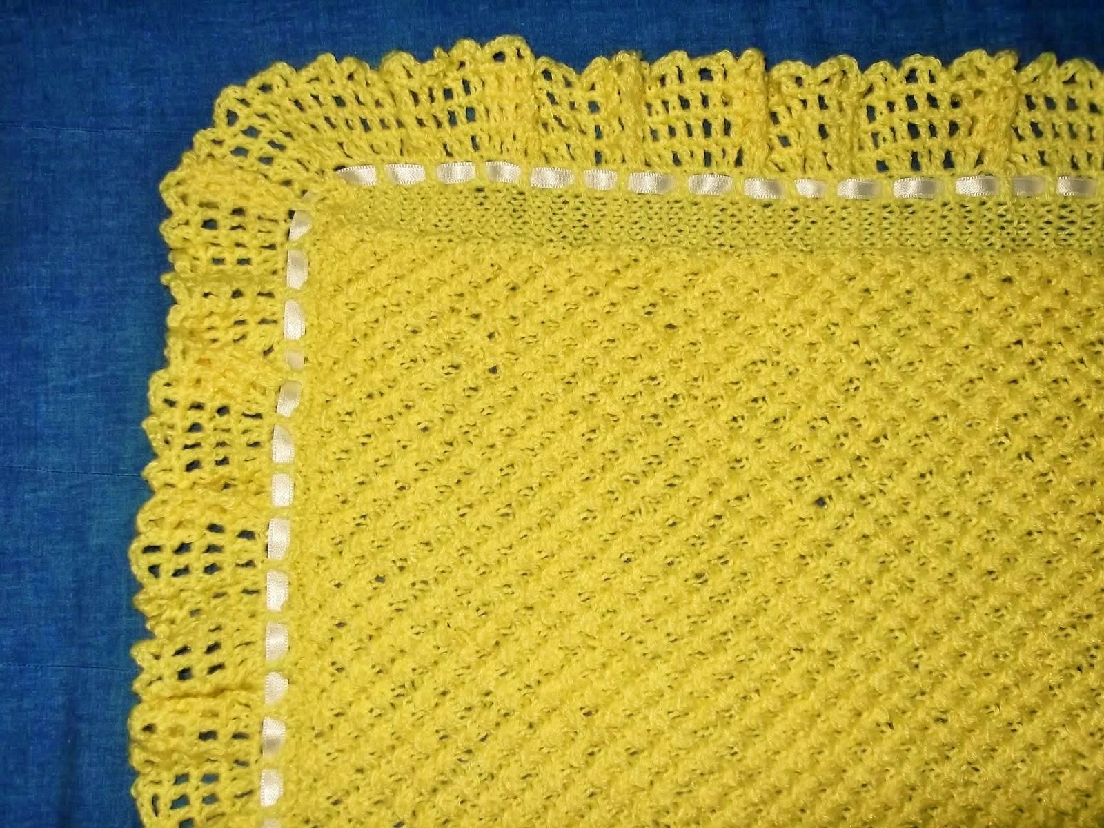 Mantas de crochet a cuadros y otras colchas tejidas con - Mantas de bebe hechas a ganchillo ...