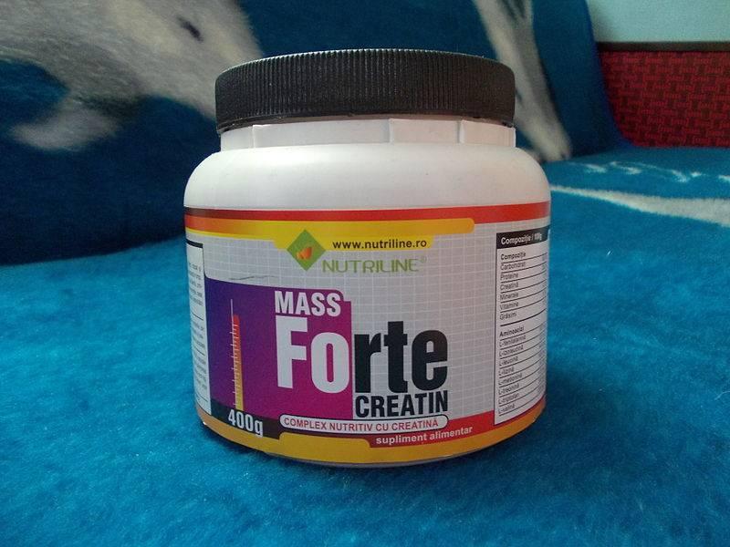 Efectos de tomar creatina para aumentar masa muscular