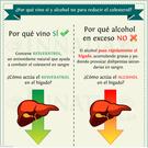 Infografía sobre el vino tinto