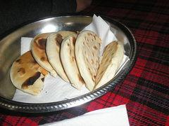 Arepas andinas de trigo