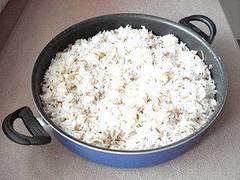 Cocinar con arroz