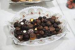 dulces de chocolate