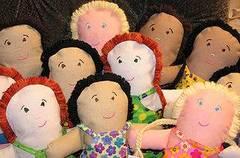 Broches de muñecas de fieltro