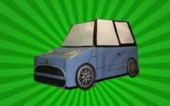 coche de carton