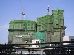 edificio de bambú